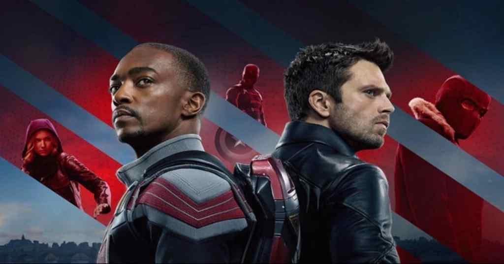 the falcon winter soldier poster