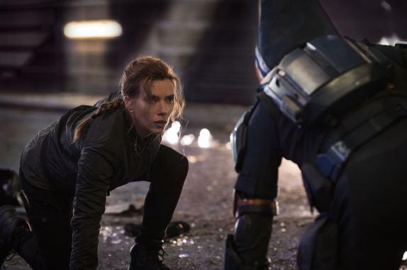 Black Widow - scarlett johansson face off