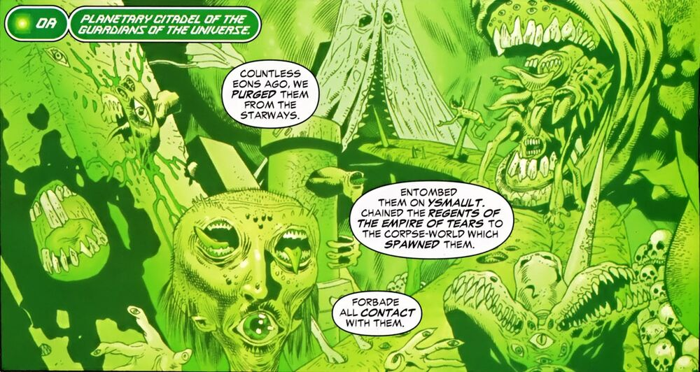 Empire of Tears Green Lantern Corps