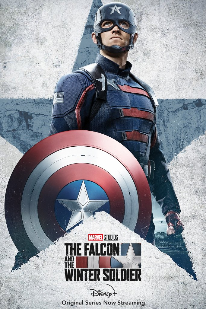 John Walker The Falcon and the Winter Soldier poster