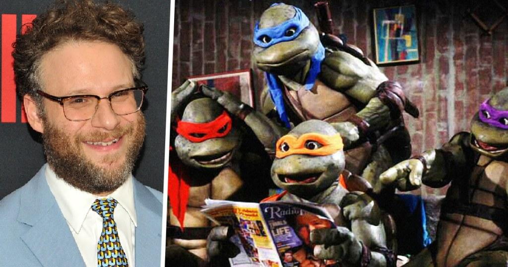 Teenage Mutant Ninja Turtles Seth Rogen