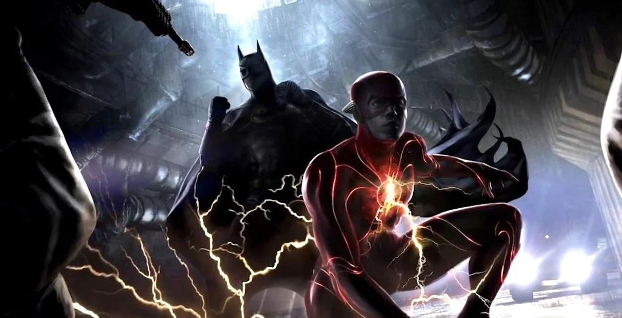 The Flash Director Shares an Unexpected Picture of Michael Keaton's Bloody Batman Costume