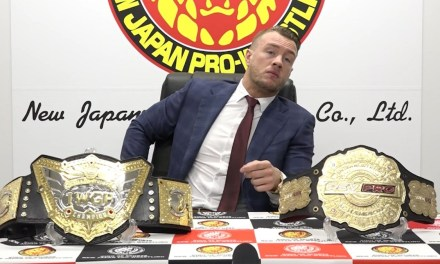Will Ospreay Wins The IWGP World Heavyweight Championship And Issues Challenge