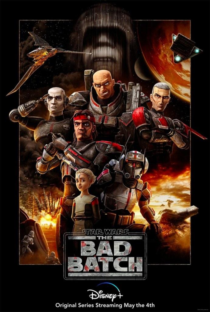The Bad Batch poster Dee Bradley Baker