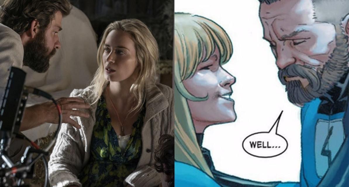 Emily Blunt Reveals Marvel Hasn't Approached Her Or John Krasinski For An Fantastic 4 Reboot