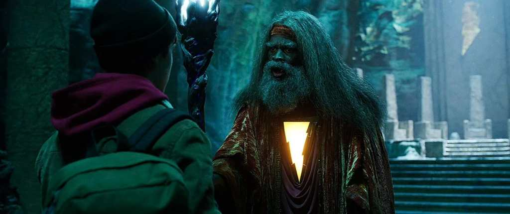 Shazam 2 Djimon Hounsou Wizard
