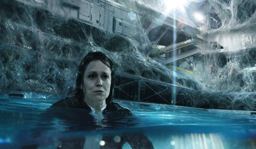 Alien 5 concept art Sigourney Weaver