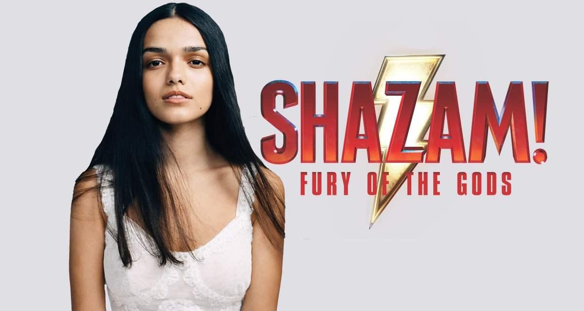 1st Sneak Peek at Rachel Zegler's costume in Shazam: Fury of the Gods