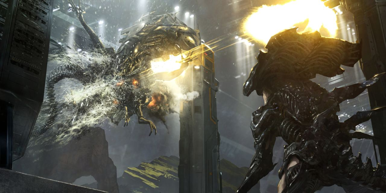Leaked Alien 5 Concept Art Features Ripley, Alien Queen, And a New Android