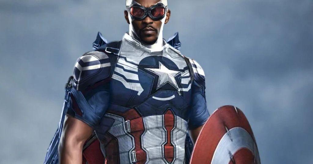 captain america - anthony mackie