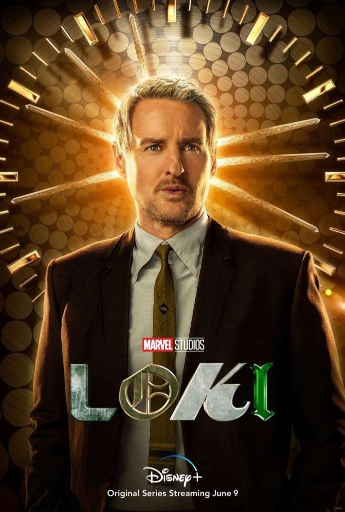 Loki poster Mobius Owen Wilson