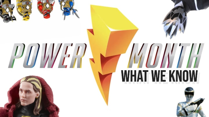 Power Rangers Power Month: What We Know So Far