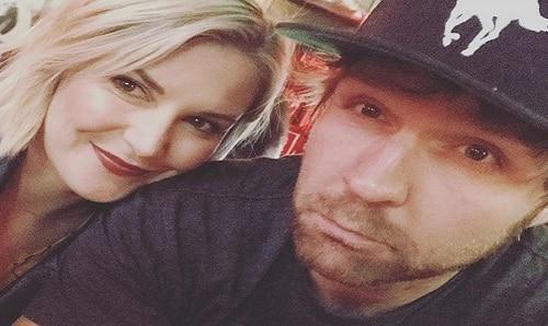 Renee and Jon Moxley