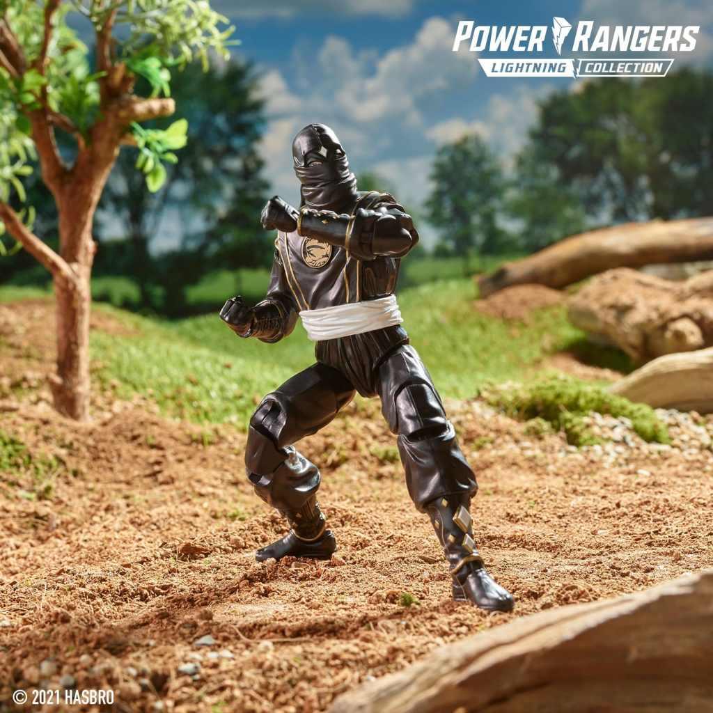 Lightning Collection Black Ninjetti Ranger