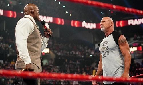 WWE Lashley and Goldberg