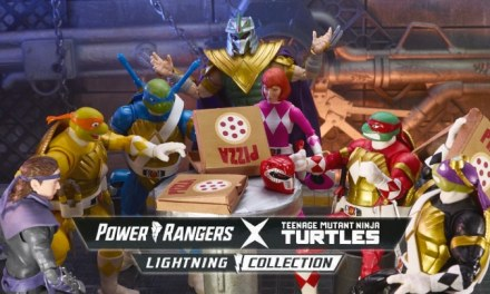 Lightning Collection: Hasbro Gives Details On The Incredible TMNT X Power Rangers Figures