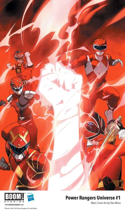 power rangers universe cover 1