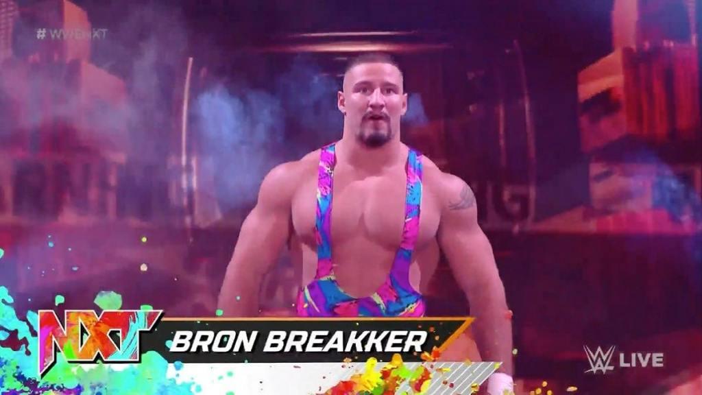 WWE Bron Breakker