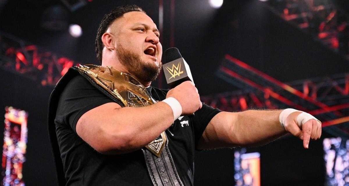 Samoa Joe Forced To Relinquish NXT Championship