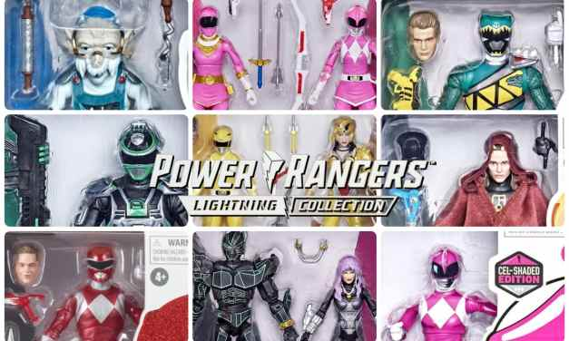 Power Rangers Lightning Collection: The Unreleased Figures of 2021 (So Far)