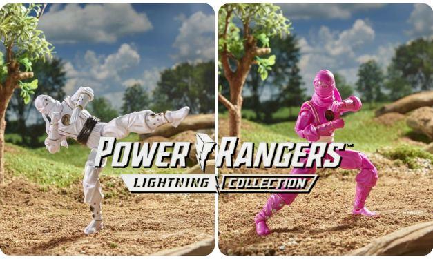 Hasbro Reveals New Ninja Ranger Lightning Collection Figures