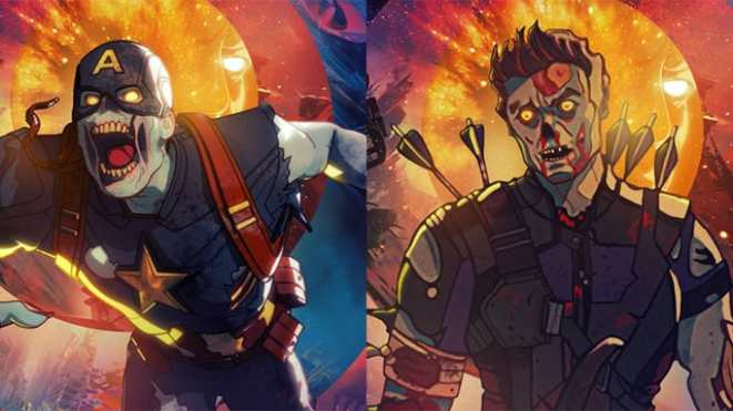 marvel zombies posters