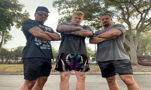 WWE Carmelo Hayes, Harland, Bron Breakker