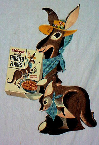 Image result for kellogg's kangaroo