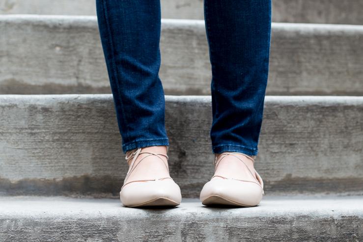 Closeup of shoes