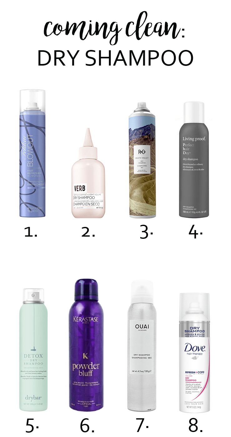 Coming Clean Dry Shampoo