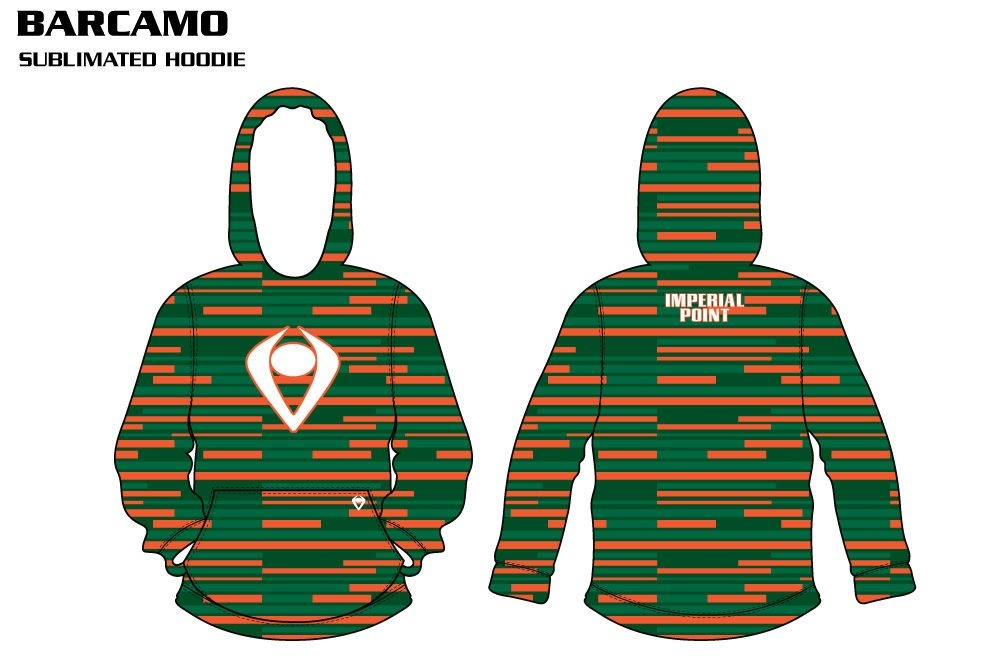 Bar Camo Sublimated Hoodie