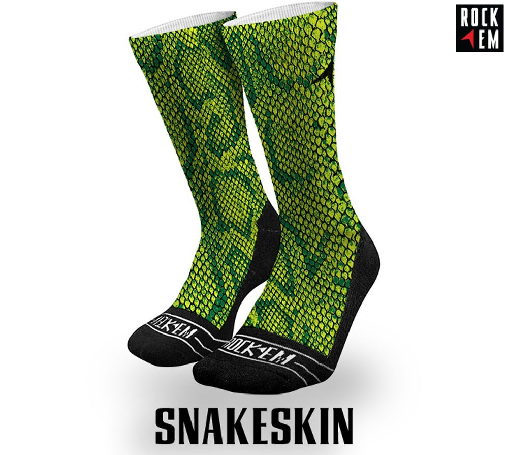 Snakeskin Sublimated Sock
