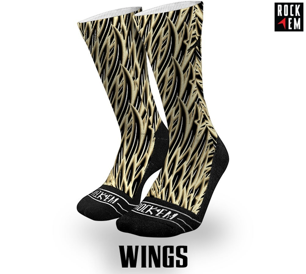 Wings Sublimated Socks