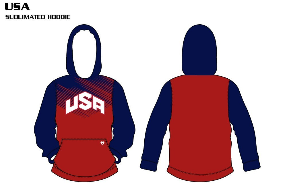 USA Sublimated Hoodie