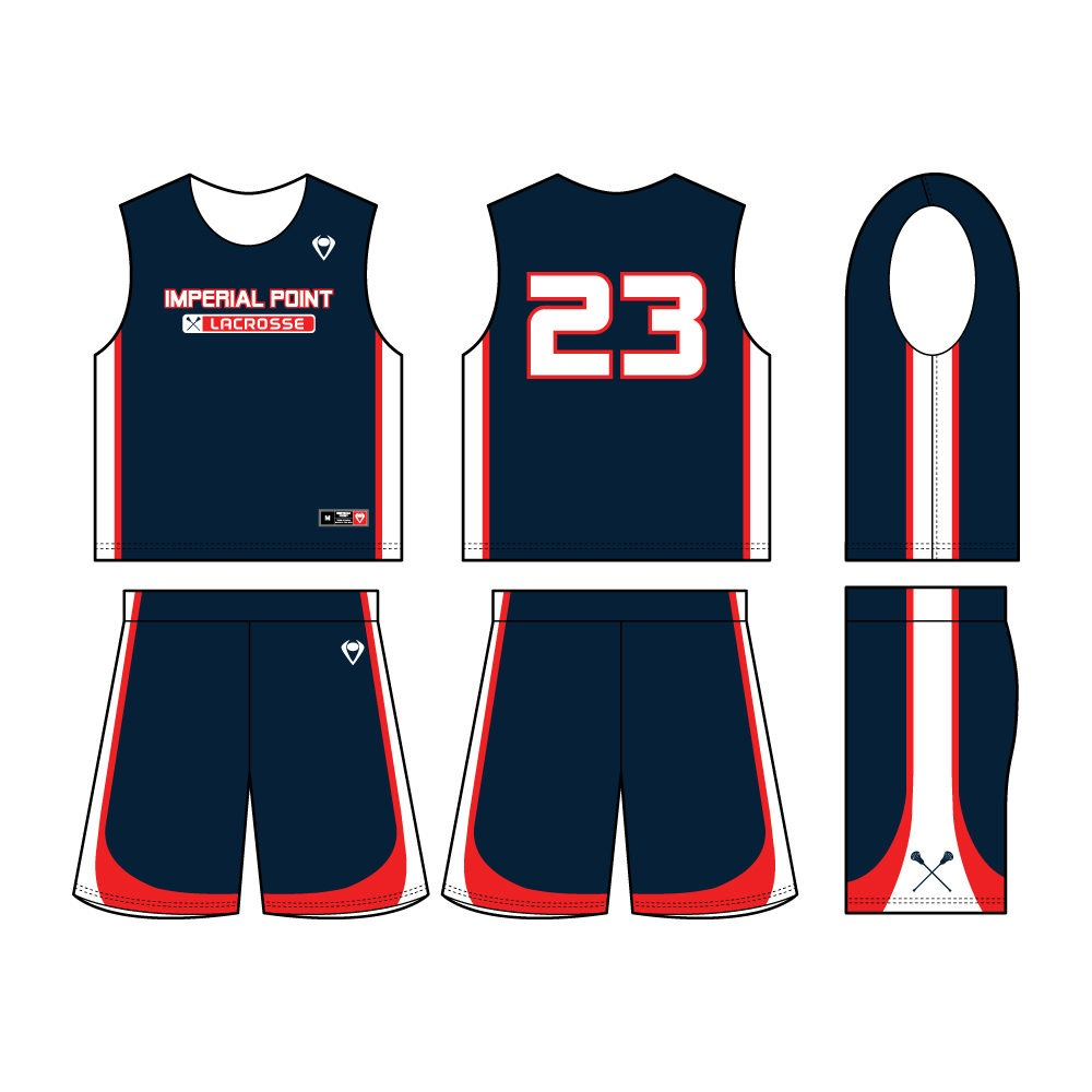 Sublimated Reversible Lacrosse Jersey
