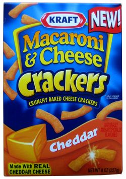 Kraft cheddar macaroni cheese crackers the impulsive buy somewhere on this vast planet we call earth there is a lazy macaroni and cheese lover who is thinking they can now have the goodness of their favorite food solutioingenieria Choice Image