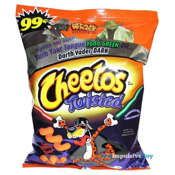 Star Wars Twisted Cheetos