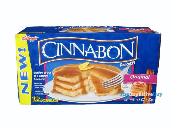 Kellogg's Original Cinnabon Pancakes