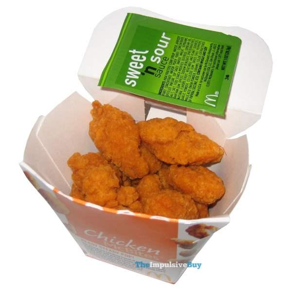 McDonald's Spicy Chicken McBites