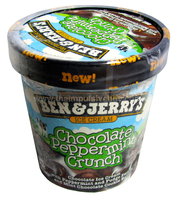Ben & Jerry's Chocolate Peppermint Crunch