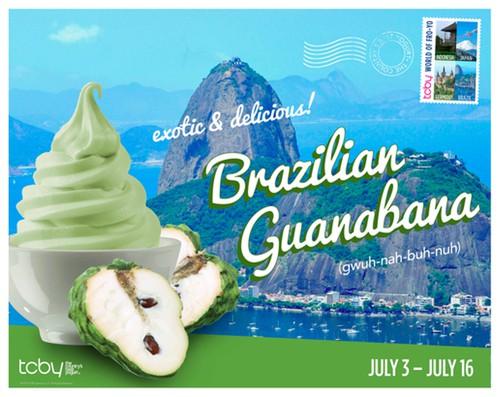 TCBY Poster 2014 Flavor Brazil Guanabana Final 1
