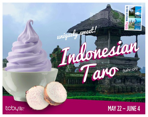 TCBY Poster 2014 Flavor Indonesia Taro Final 2