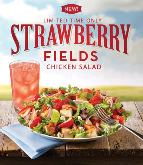 Wendy s Strawberry Fields Chicken Salad