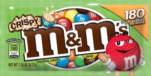 M M s Crispy Milk Chocolate
