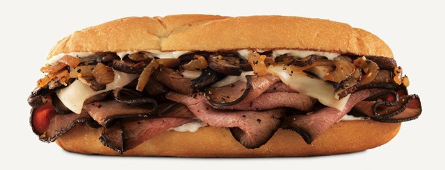 Arby s Montreal Angus and Portabella Sandwich