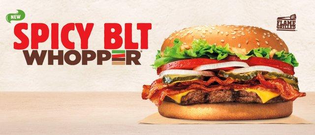 BK Spicy BLT Whopper