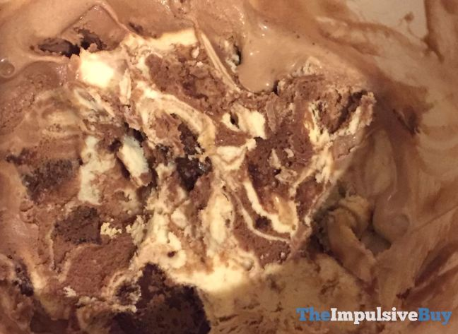 Ben & Jerry's Limited Batch Peanut Butter Half Baked Ice Cream Mixed