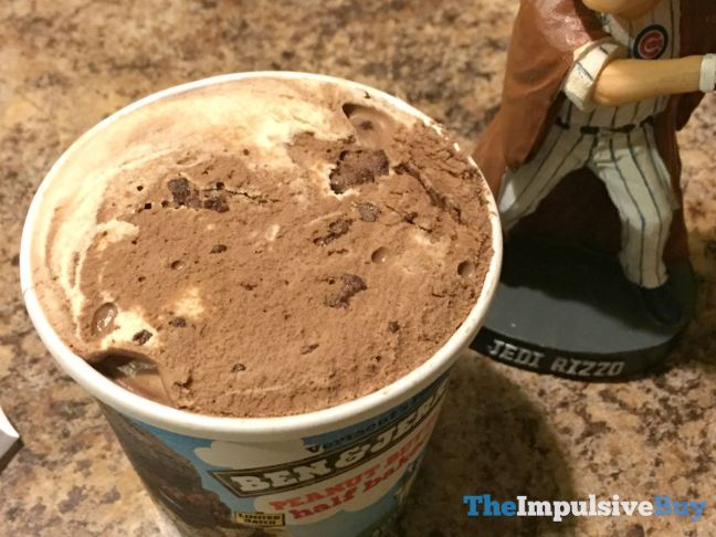 Ben & Jerry's Limited Batch Peanut Butter Half Baked Ice Cream Top