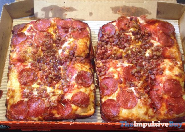 Little Caesars Bacon Wrapped Crust DEEP! DEEP! Dish Pizza
