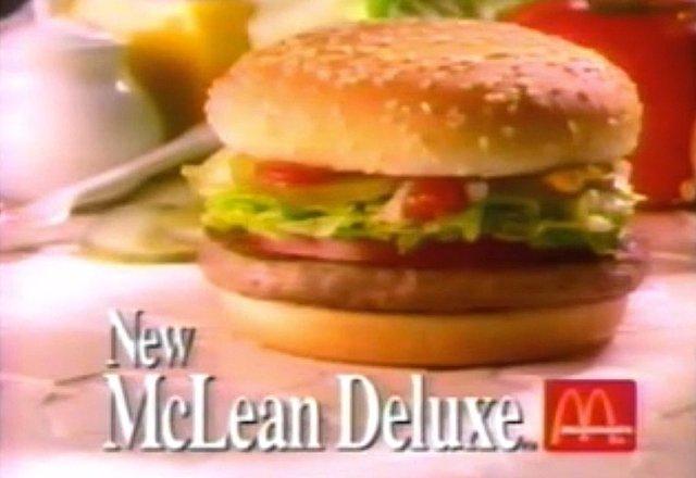 McDonald s McLean Deluxe